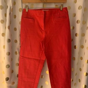 Talbots red Capri pants size 6P